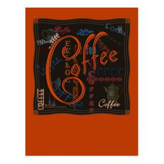 Coffee Spice Postcard