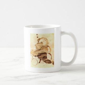 Coffee spills - Cool hand-made coffee spill design
