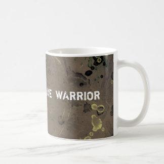 Coffee spills mug