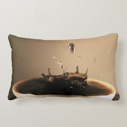 Coffee Splashes Lumbar Cushion
