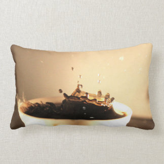 Coffee Splashes Lumbar Cushion