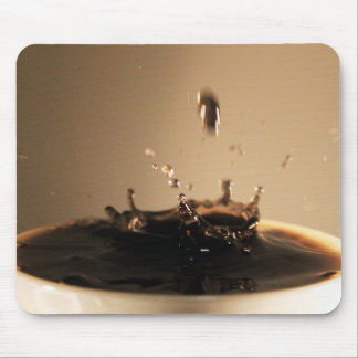 Coffee Splashes Mouse Pad