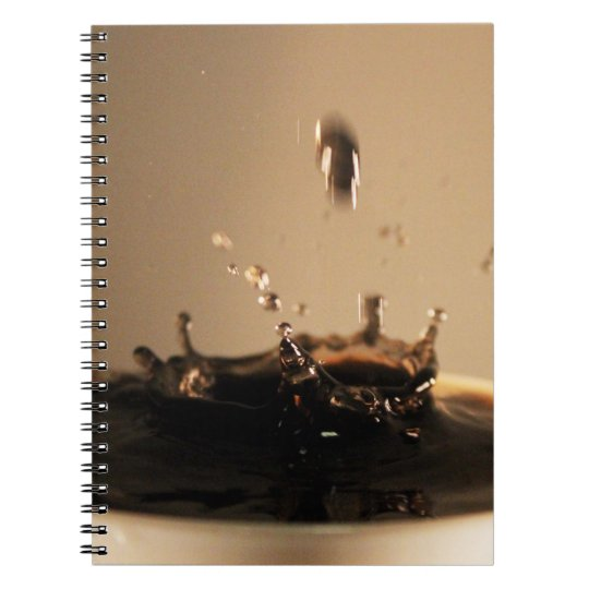 Coffee Splashes Notebook