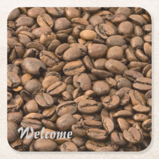 coffee square paper coaster
