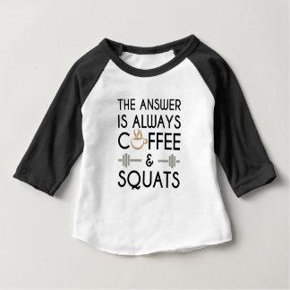 Coffee & Squats 2 Baby T-Shirt