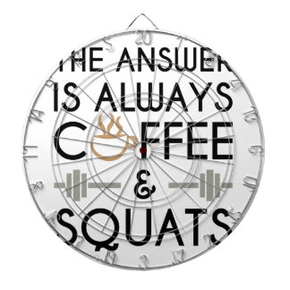 Coffee & Squats 2 Dartboard
