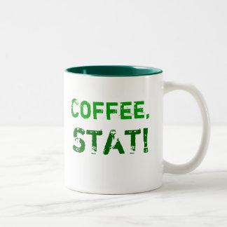Coffee, STAT! Two-Tone Mug