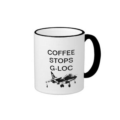 COFFEE STOPS G-LOC MUG