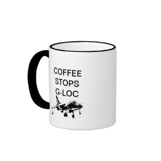 COFFEE STOPS G-LOC RINGER MUG