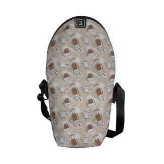Coffee, sweet pattern commuter bag