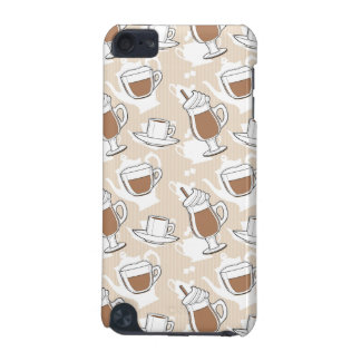 Coffee, sweet pattern iPod touch 5G covers