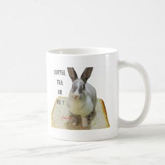 Coffee, tea or bunny mug