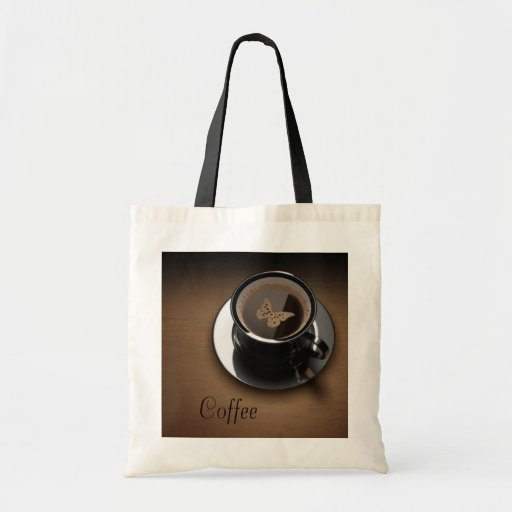 Coffee-Themed Tote Tote Bag