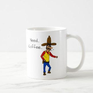 Coffee Thirsty Cowboy Mug