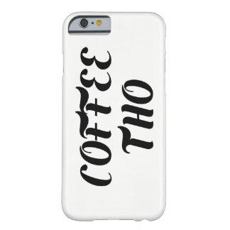 Coffee Tho iPhone Case