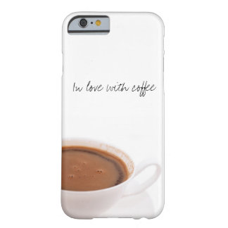 coffee time barely there iPhone 6 case