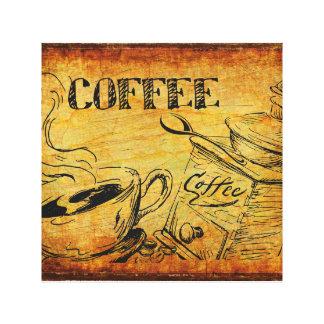 Coffee Time Breakfast Canvas Print