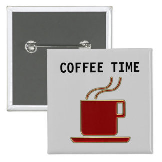 Coffee Time - Button