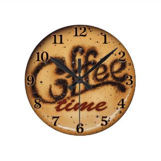 Coffee Time Decorative Wall Clock