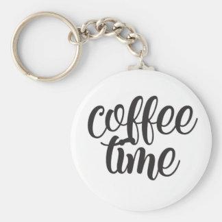 Coffee Time Key Ring