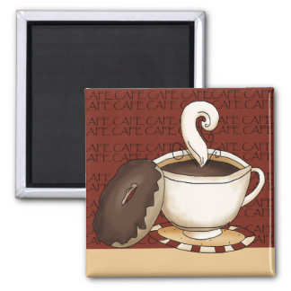 Coffee Time Fridge Magnets