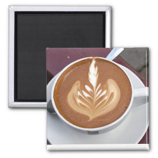 COFFEE TIME SQUARE MAGNET