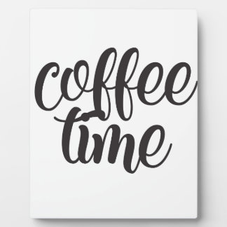 Coffee Time Plaque