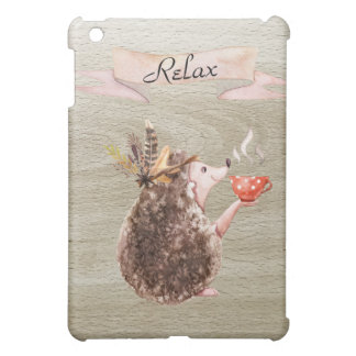 Coffee Time Porcupine Cover For The iPad Mini
