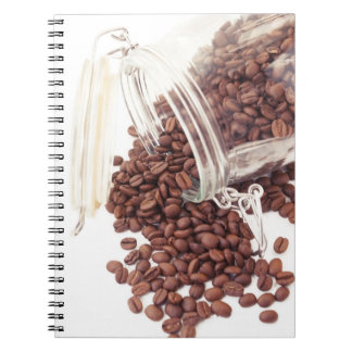 coffee time spiral note books