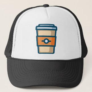 Coffee to go trucker hat