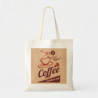 Coffee Budget Tote Bag