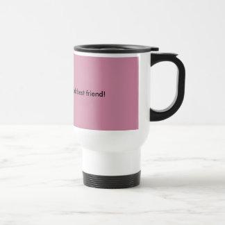 Coffee.... Truly a girls best friend! Stainless Steel Travel Mug