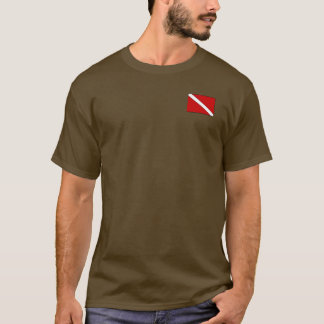Coffee Warms a Diver Twice - T Shirt