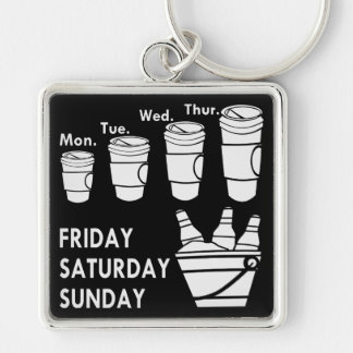 Coffee Week & Beer Weekend Key Ring