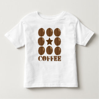 Coffee with beans toddler T-Shirt