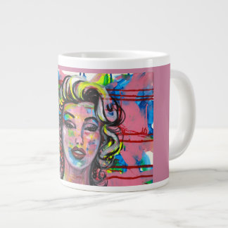 COFFEE WITH MARILYN LARGE COFFEE MUG