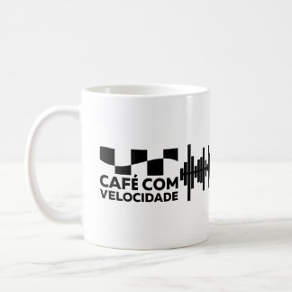 Coffee with Speed - classic Branca Mug 325ml