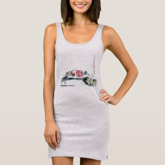 Coffee With Tea | Grey Tank Dress