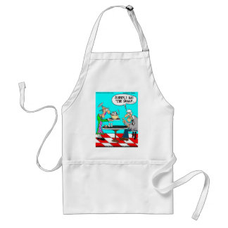 Coffee Without Cows Funny Tees Mugs & Gifts Standard Apron