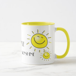 Coffee You Are My Sunshine Mug
