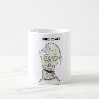 COFFEE ZOMBEE BASIC WHITE MUG
