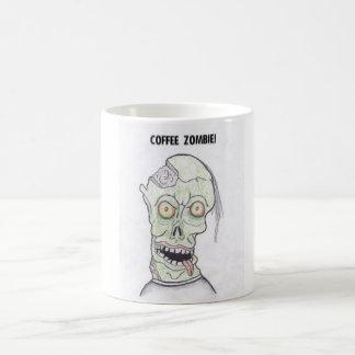 COFFEE ZOMBEE BASIC WHITE MUG