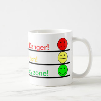 Coffee Zones Basic White Mug