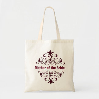 CoffeeMother of the Bride Wedding Tote Bag
