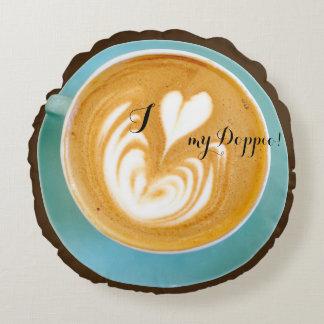 Coffeenista Round Cushion