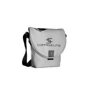 Coffey Cuts DJ Design Messenger Music Bag Messenger Bags