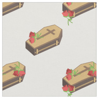 coffin emojis fabric