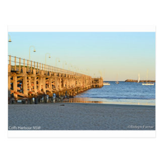 Coffs Harbour Jetty Postcard
