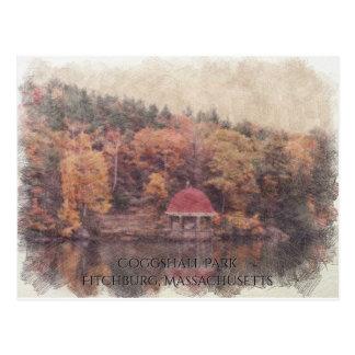 Coggshall Park Fitchburg, Massachusetts Postcard