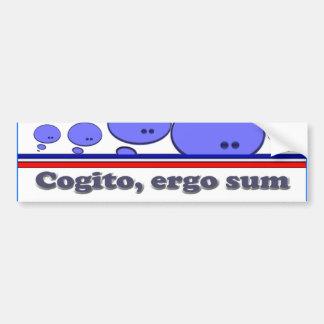 Cogito Car Bumper Sticker